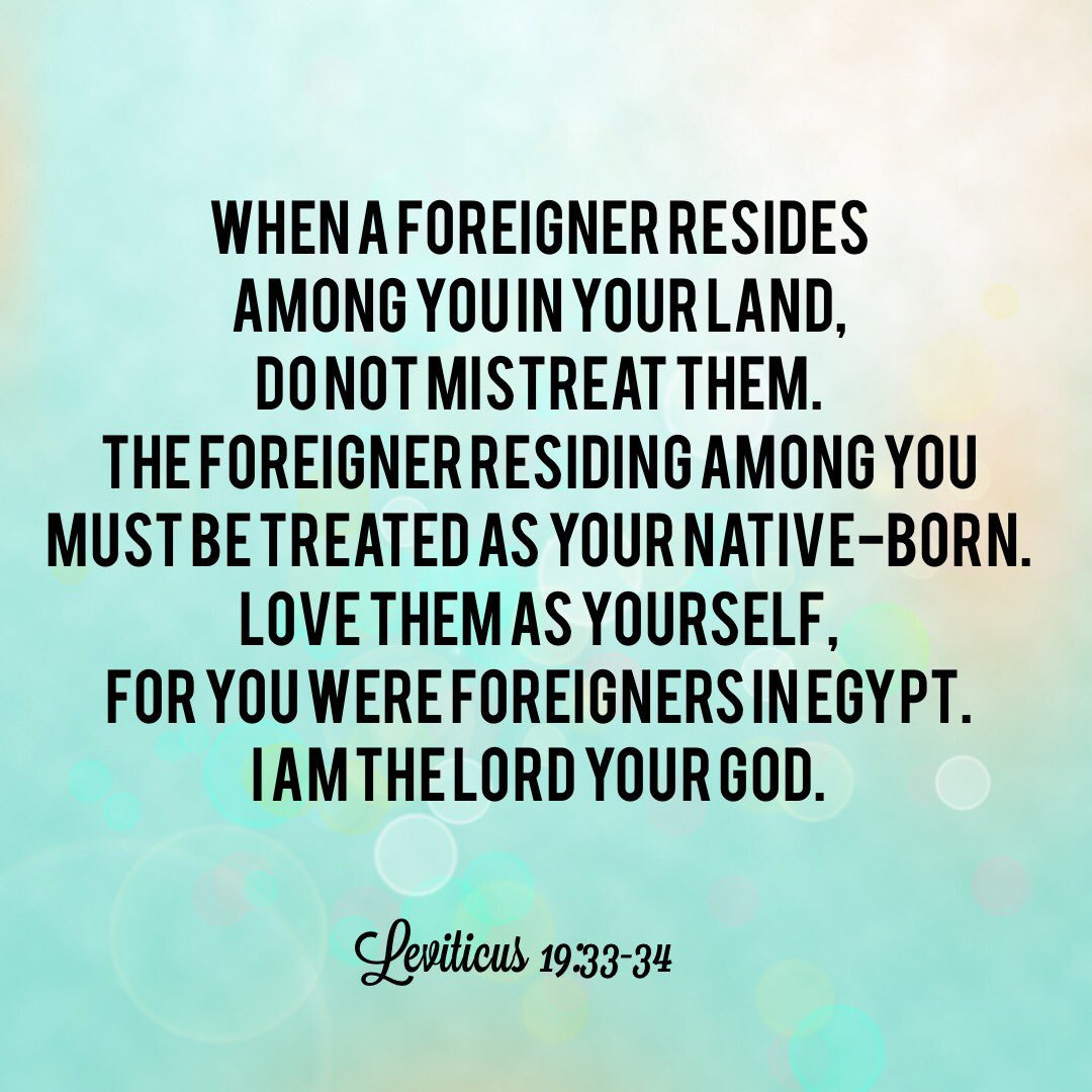 In The Promise Land Justice Is Extended To All [Immigration In Scripture 2]